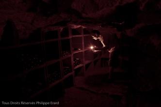 Franois et Pascale Plouzeau sont viticulteurs bio ˆ Razines prs de Richelieu (non loin de Chinon). Tous les ans ils invitent parents et amis ˆ fter les vendanges. Dans une vieille cave rachetŽ depuis peu, Franois cherche une bouteille.